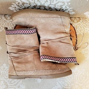 Tom's | Boho Style Sherpa Pull-on Boots